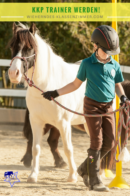 Als zertifizierter KKP® Trainer kannst Du selbst ein effektives Konzentrationstraining mit Pferd für Kinder durchführen und Kindern zu einem refelxiven, selbstmotivierten Arbeitsstil verhelfen.