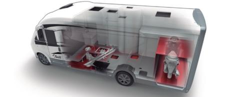 Mobilvetta K-Yacht Tekno Design Stauraum