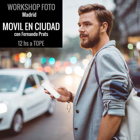 taller fotografia con movil - workshop madrid fotografia