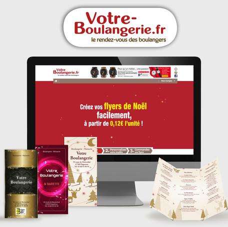 Réalisation IMPREX Haguenau pour votre-boulangerie.fr