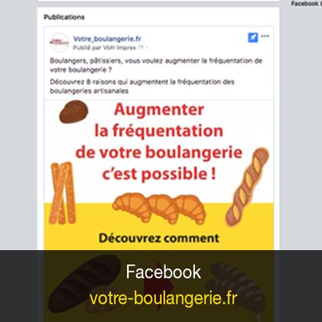 Facebook votre-boulangerie.fr