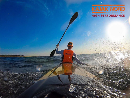 VAJDA Surfski Training Camps Ostsee, Kajak Nord