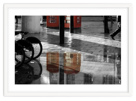 Street photography 'London Rainy Streets' By PASiNGA exclusive ArtHaus collection