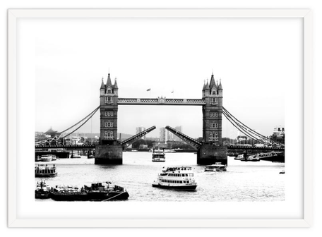 City art print 'The Tower Bridge Of London' By PASiNGA exclusive ArtHaus collection