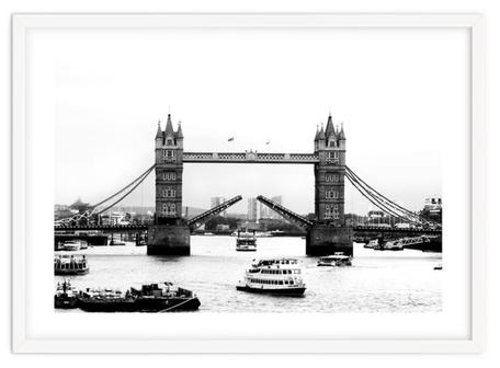 City art print 'The Tower Bridge Of London' By PASiNGA exclusive ArtHaus collection