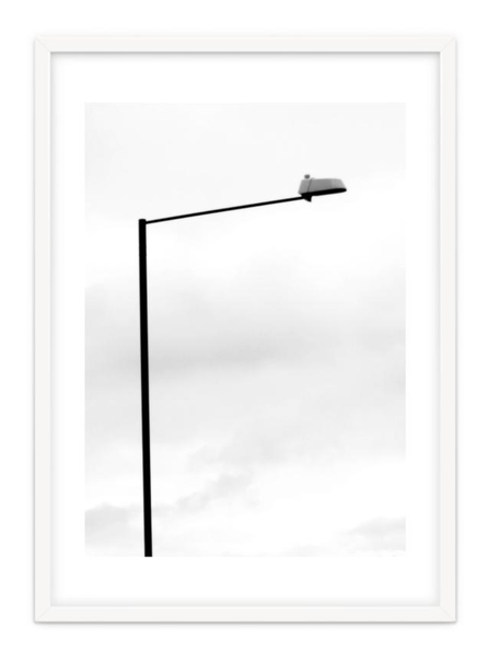 Minimal Art Print 'Street Light' By PASiNGA exclusive ArtHaus collection