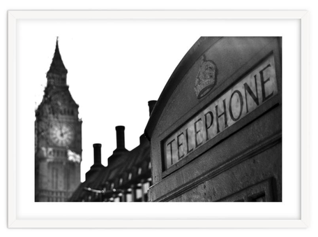 City art print 'London Calling' By PASiNGA exclusive ArtHaus collection