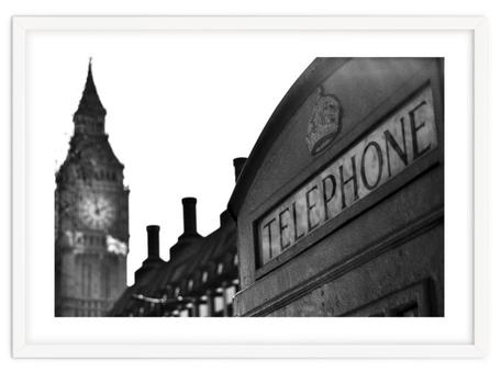 City art print 'London Calling' By PASiNGA exclusive ArtHaus collection
