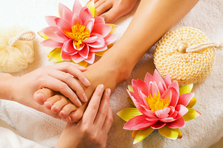 reflexologie plantaire, réflexologie plantaire, massage, pieds