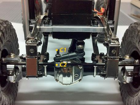crawlster®4S LenkSystem verbinden
