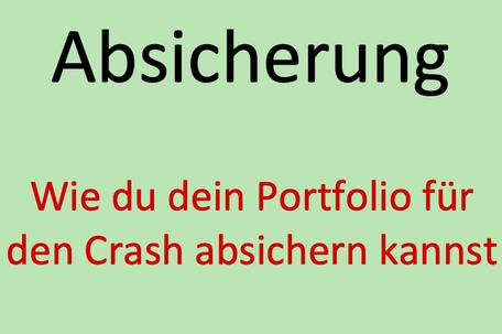 Portfolio Absicherung, Investor Schule