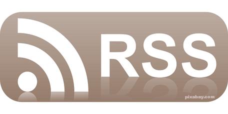Das RSS Feed Symbol