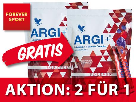 ARGI+ Aktion 2 FOR 1