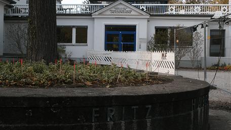 Belüftung der Linde auf dem Fritz-Haber-Institut der Max Planck-Gesellschaft