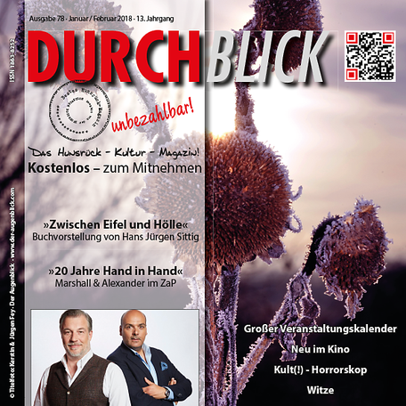DURCHBLICK Ausgabe 78 - Januar + Februar 2018