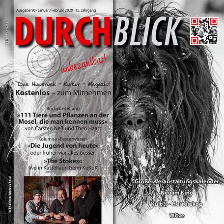 DURCHBLICK-Ausgabe 90 - Januar + Februar 2020