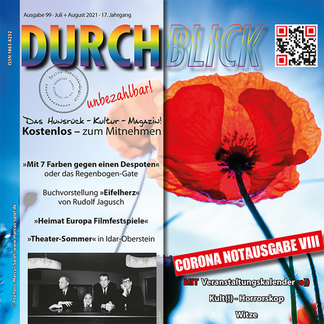 DURCHBLICK - Ausgabe 99 - Juli + August 2021