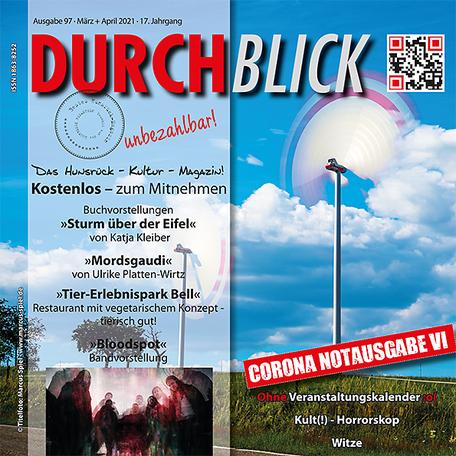 DURCHBLICK - Ausgabe 97 - März + April 2021