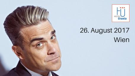 Robbie Williams wien ernst happelstadion vienna 2017 August Hotelempfehlung Hotel Urania nähe prater