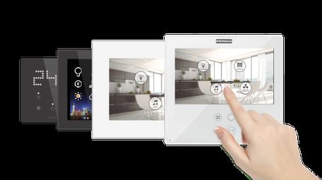 Monitores de videoportero  Smile de Fermax con gestión integrada