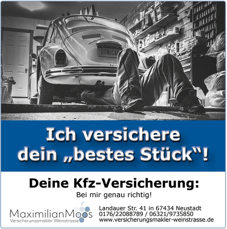 Post Maximilian Moos Versicherungsmakler Weinstraße Kfz Versicherung 112020