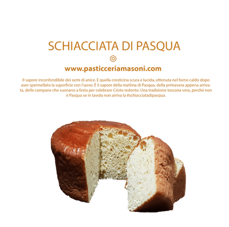 Pasticceria Masoni Vicopisano prodotti tradizione Masoni, schiacciata di pasqua #schiacciatadipasqua, shop online
