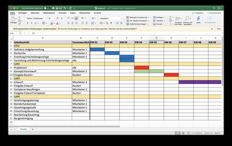 Excel Datei vor dem Import