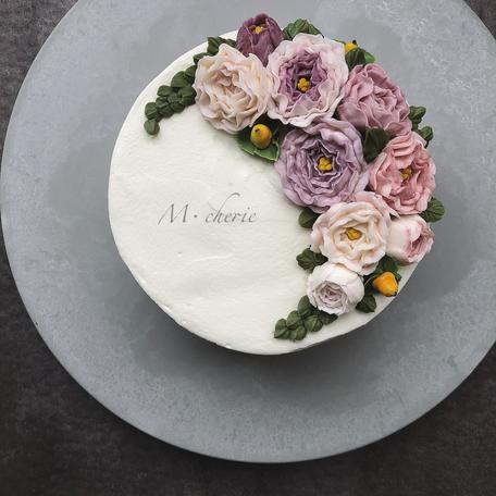 M・cherie:フラワーケーキ