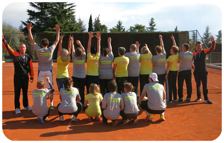 Trainingsgruppe Sunshine Tennis