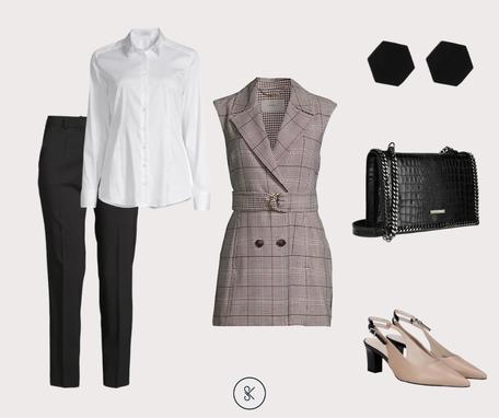 Blazerweste als Jackett für den modernen Business-Look