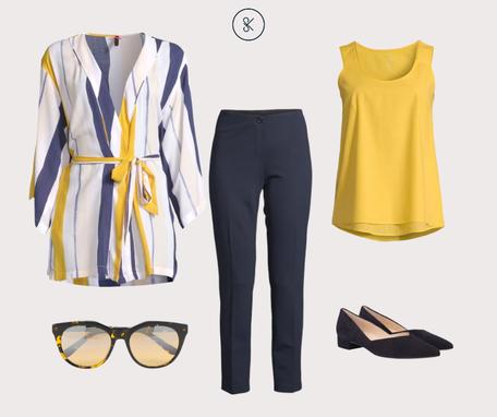 Pyjamablazer für sommerliches Büro-Outfit
