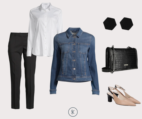 Jeansjacke für´s Business-Outfit