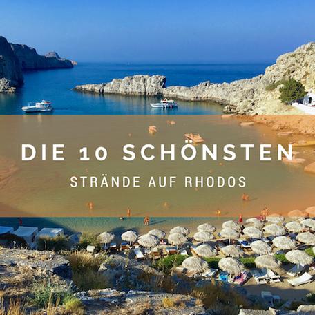 Strände Auf Rhodos Rhodos Reiseführer