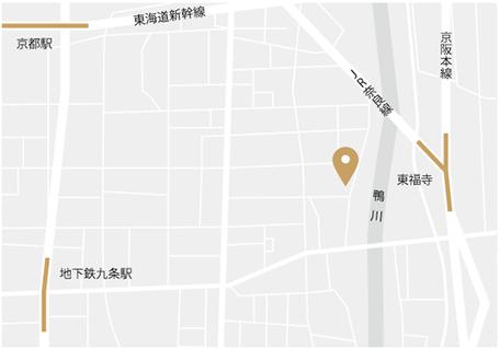 ティーアテンダント協会主宰 紅茶教室おちゃたくの高槻校の地図