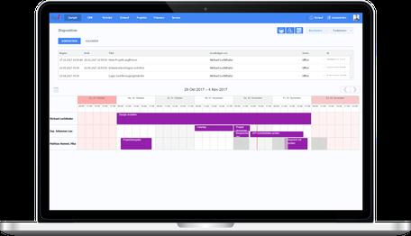 Projektleitung mit OfficeAssistant CRM