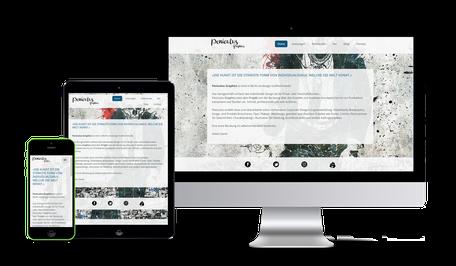 Webdesign, Website, Webshop