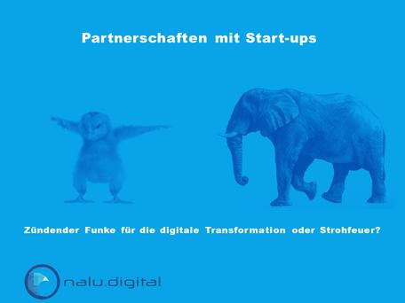 Partnerschaften mit Start-ups