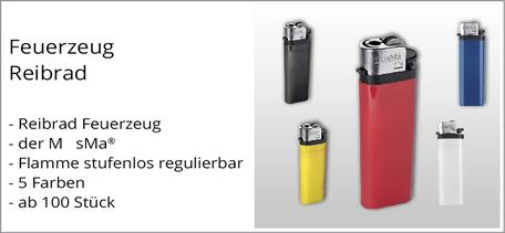 Feuerzeug mit Logo bedrucken günstig