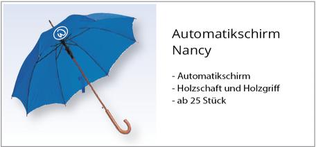 Regenschirm mit Logo bedrucken