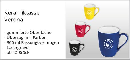 Tasse mit Logo bedrucken