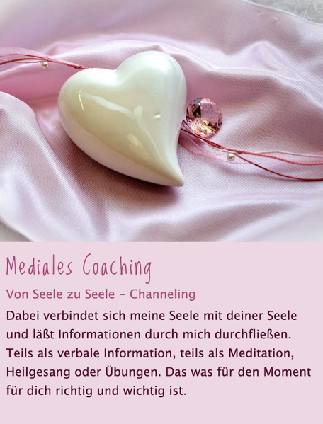 Mediales Coaching - Channeling