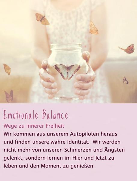 Emotionale Balance - EFT - Meridianklopfen