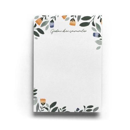 Schreibblock Gedankensammler