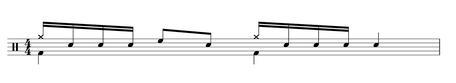 Drum Fill Noten