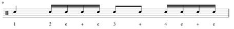 Schlagzeug Snare Fill