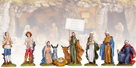 Christmas statues - Crib sets