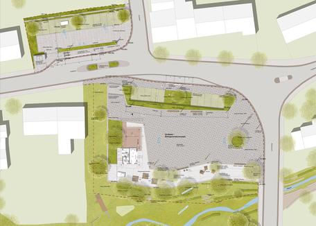 Dorfplatz Greimerath - Leistungsphase 6-7, Planung: faktorgruen Landschaftsarchitekten