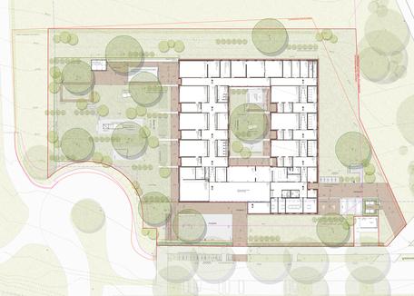 Kita Ammerbuch - Leistungsphase 6-8, Planung: freisign Landschaftsarchitekten