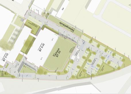 Max-Planck-Institut, Freiburg - Leistungsphase 6-8, Planung: faktorgruen Landschaftsarchitekten