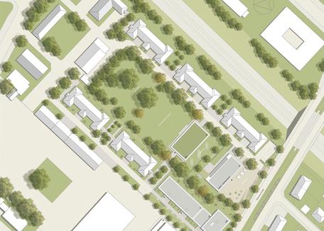 Breisacher Hof, Freiburg - Leistungsphase 8, Planung: HDK Landschaftsarchitekten